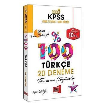 Yargý 2020 KPSS Türkçe %100 20 Deneme Çözümlü Yargý Yayýnlarý