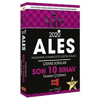 Yargý Yayýnlarý 2020 ALES VIP Tamamý Çözümlü Son 10 Sýnav Çýkmýþ Sorular