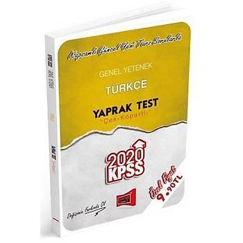 KPSS Genel Yetenek Türkçe Çek Kopartlý Yaprak Test Yargý Yayýnlarý 2020