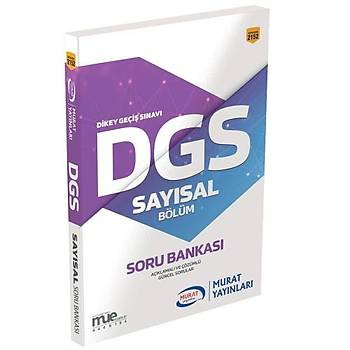 DGS Sayýsal Bölüm Soru Bankasý Murat Yayýnlarý 2018
