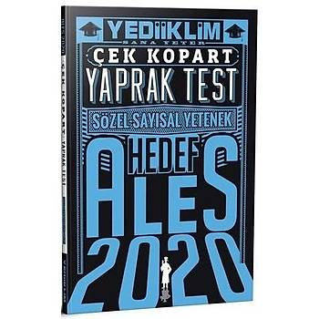 ALES Sayýsal Sözel Yetenek Çek Kopart Yaprak Test Yediiklim Yayýnlarý 2020