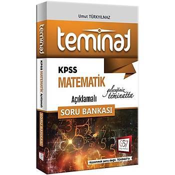 2018 KPSS Teminat Matematik Açýklamalý Soru Bankasý 657 Yayýnlarý