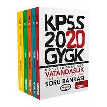 2020 Genel Yetenek Genel Kültür Tamamý Çözümlü Modüler Soru Bankasý