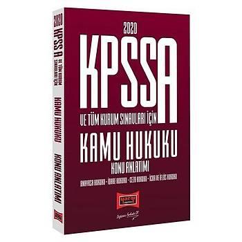 KPSS A Grubu Kamu Hukuku Konu Anlatýmlý Yargý Yayýnlarý 2020