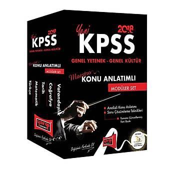 2018 KPSS Maestro Genel Yetenek Genel Kültür Konu Anlatýmlý Modüler Set 5 Kitap Yargý Yayýnlarý