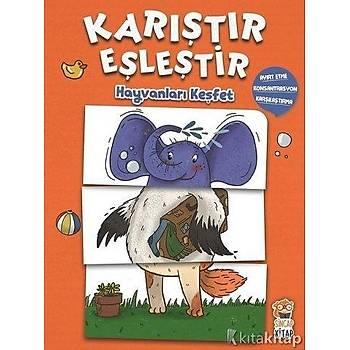 Hayvanlarý Keþfet - Karýþtýr Eþleþtir
