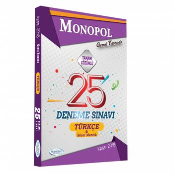 Monopol 2018 KPSS Türkçe Tamamý Çözümlü 25 Deneme