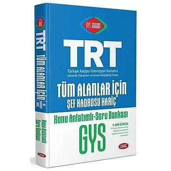 Data 2020 GYS TRT Tüm Alanlar için Konu Anlatýmlý Soru Bankasý Görevde Yükselme Data Yayýnlarý