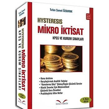 Hysteresis Mikro Ýktisat Ýkincisayfa Yayýnlarý- Tufan Samet Özdurak 2 Baský