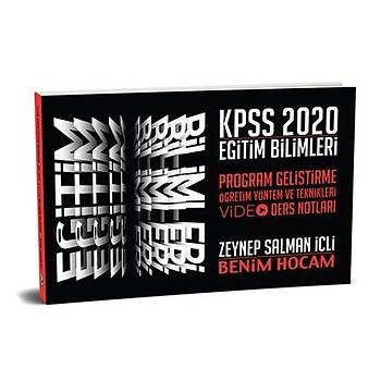 KPSS Eðitim Bilimleri Program Geliþtirme Video Ders Notlarý Benim Hocam Yayýnlarý 2020