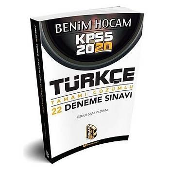 KPSS Türkçe 22 Deneme Sýnavý Benim Hocam Yayýnlarý 2020