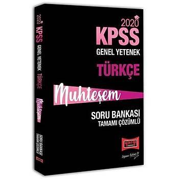 KPSS Muhteþem Türkçe Tamamý Çözümlü Soru Bankasý Yargý Yayýnlarý 2020