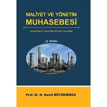 Maliyet ve Yönetim Muhasebesi - Prof. Dr. Kamil Büyükmirza