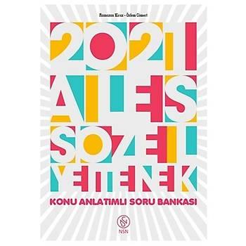 ALES Tek Kitap Sözel Yetenek Konu Anlatýmlý Soru Bankasý Nisan Kitabevi Yayýnlarý 2021