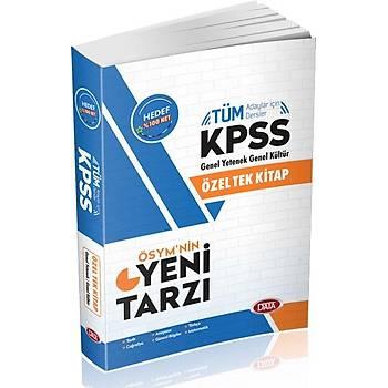 2019 Data Yayýnlarý KPSS GY-GK Tek Kitap Konu Anlatýmlý