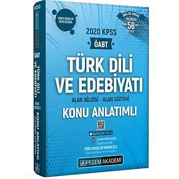 Pegem 2020 KPSS ÖABT Türk Dili ve Edebiyatý Video Destekli Konu Anlatýmlý