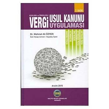 Vergi Usul Kanunu Uygulamasý - Mehmet Ali Özyer