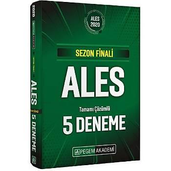 Pegem 2020 ALES Sezon Finali 5 Deneme Çözümlü Pegem Akademi Yayýnlarý