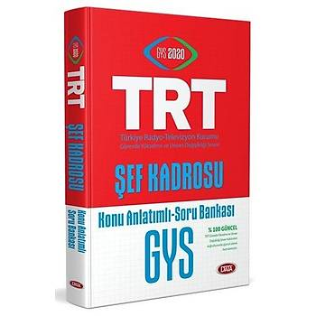 Data 2020 GYS TRT Þef Kadrosu için Konu Anlatýmlý Soru Bankasý Görevde Yükselme Data Yayýnlarý