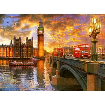 PUZZLE 1000 PARÇA - LONDRA'DA GÜNBATIMI