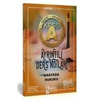 ÝSEM KPSS A Grubu Anayasa Hukuku Ayrýntýlý Ders Notlarý 2017