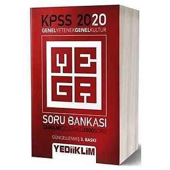 KPSS Genel Kültür Genel Yetenek Mega Soru Bankasý Yediiklim Yayýnlarý 2020