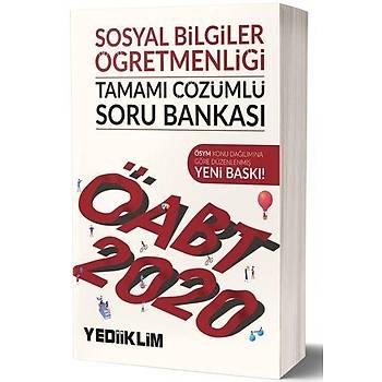 ÖABT Sosyal Bilgiler Öðretmenliði Soru Bankasý Yediiklim Yayýnlarý 2020