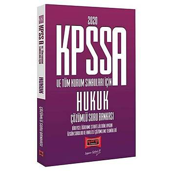KPSS A Grubu Hukuk Çözümlü Soru Bankasý Yargý Yayýnlarý 2020