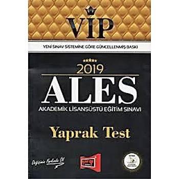 2019 ALES VIP Yaprak Test Yargý Yayýnlarý