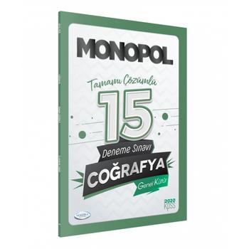 2020 Kpss Genel Kültür Coðrafya Çözümlü 15 Deneme Sýnavý Monopol Yayýnlarý