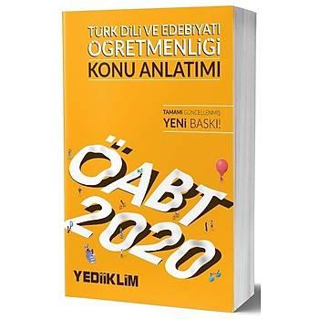 ÖABT Türk Dili ve Edebiyatý Öðretmenliði Konu Anlatýmlý Yediiklim Yayýnlarý 2020