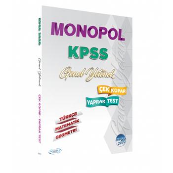 2020 KPSS Genel Yetenek Yaprak Test Monopol Yayýnlarý