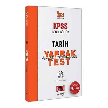 Yargý 2021 KPSS Tarih Yaprak Test Çek Kopart Yargý Yayýnlarý