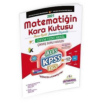 Ýnformal 2021 KPSS Matematiðin Kara Kutusu Aritmetik-Ýþlem Çýkmýþ Sorular Soru Bankasý Ýnformal Yayýnlarý
