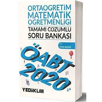 ÖABT Ortaöðretim Matematik Öðretmenliði Soru Bankasý Yediiklim Yayýnlarý 2020