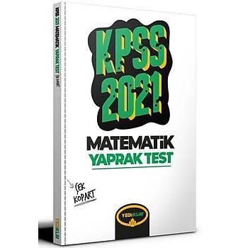 Yediiklim Yayýnlarý 2021 KPSS Genel Yetenek Matematik Çek Kopart Yaprak Test