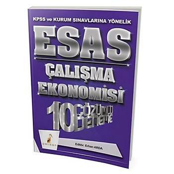 KPSS A Grubu ESAS Çalýþma Ekonomisi 10 Çözümlü Deneme Pelikan