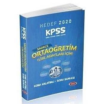 2020 KPSS Sadece Ortaöðretim Lise GYGK Konu Anlatýmlý Soru Bankasý Data Yayýnlarý