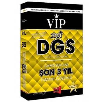 Yargý Yayýnlarý 2020 DGS VIP Sayýsal-Sözel Yetenek Son 3 Yýl Tamamý Çözümlü Çýkmýþ Sorular