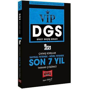 Yargý Yayýnlarý 2021 DGS VIP Sayýsal Sözel Yetenek Son 7 Yýl Tamamý Çözümlü Çýkmýþ Sorular