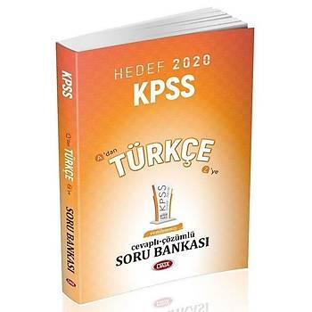 2020 KPSS Türkçe Soru Bankasý Çözümlü Data Yayýnlarý