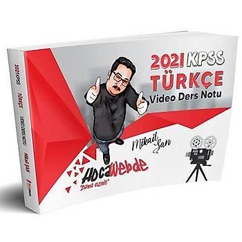 HocaWebde Yayýnlarý 2021 KPSS Türkçe Video Ders Notu