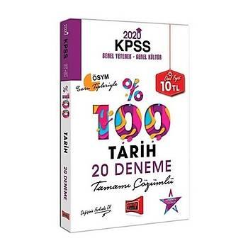 KPSS Tarih Tamamý Çözümlü 20 Deneme Yargý Yayýnlarý 2020