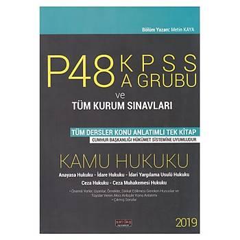 KPSS P48 A Grubu Kamu Hukuk Konu Anlatýmlý Savaþ Yayýnlarý 2019