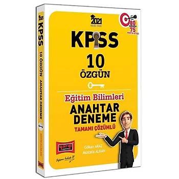 KPSS Eðitim Bilimleri 10 Özgün Anahtar Deneme Tamamý Çözümlü Yargý Yayýnlarý 2021