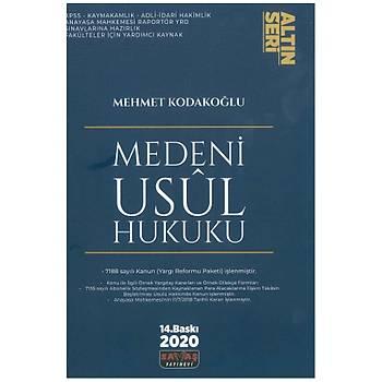 Medeni Usul Hukuku Altýn Seri - Mehmet Kodakoðlu 2020