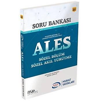 ALES Sözel Bölüm Sözel Akýl Yürütme Soru Bankasý Murat Yayýnlarý 2018