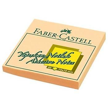 FABER CASTELL YAPIÞKAN NOTLUK 75X75MM POST-IT (KREM)