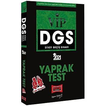 Yargý Yayýnlarý 2021 DGS VIP Çek Kopart Yaprak Test
