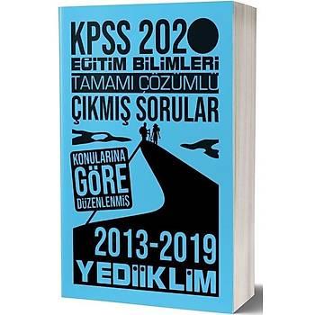 KPSS Eðitim Bilimleri Konularýna Göre Çýkmýþ Sorular Yediiklim Yayýnlarý 2020
